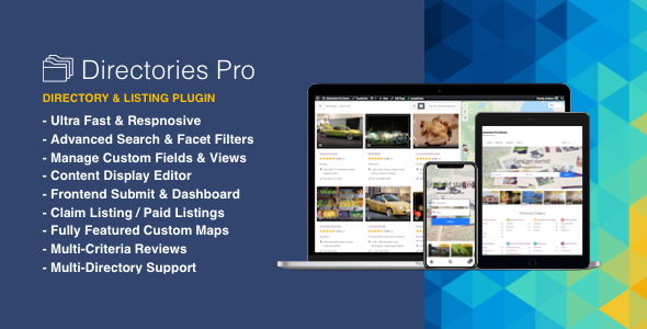 Directories Pro v1.2.14 - мощный плагин каталога для WordPress