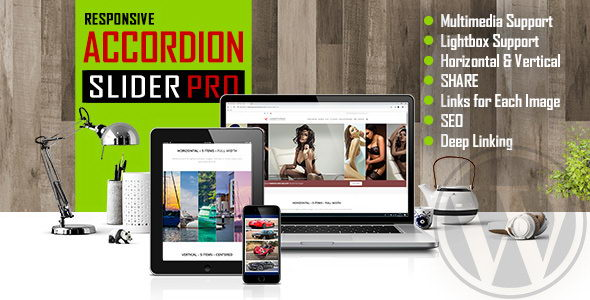 Accordion Slider PRO - адаптивный мультимедийный слайдер-аккордеон для WordPress