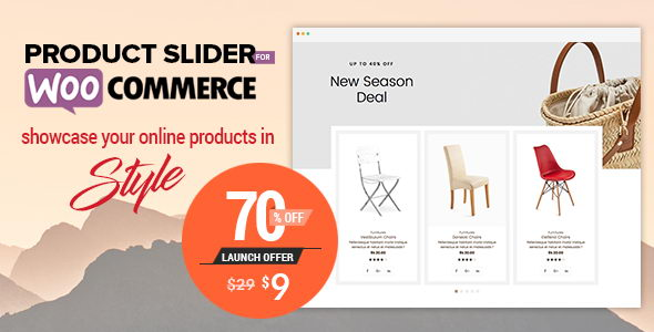Product Slider For WooCommerce v1.0.8 - слайдер и карусель продуктов для WooCommece