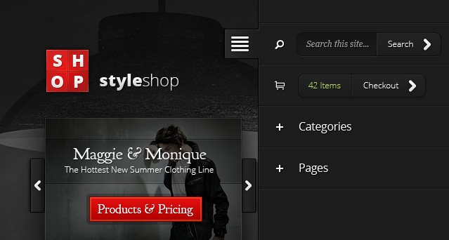 StyleShop v2.2.16 - премиум тема WordPress для сайтов электронной коммерции