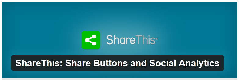 ShareThis: Share Buttons and Social Analytics